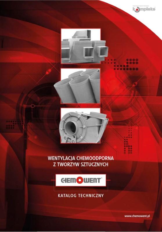 Katalog techniczny wentylacji z tworzyw CHEMOWENT