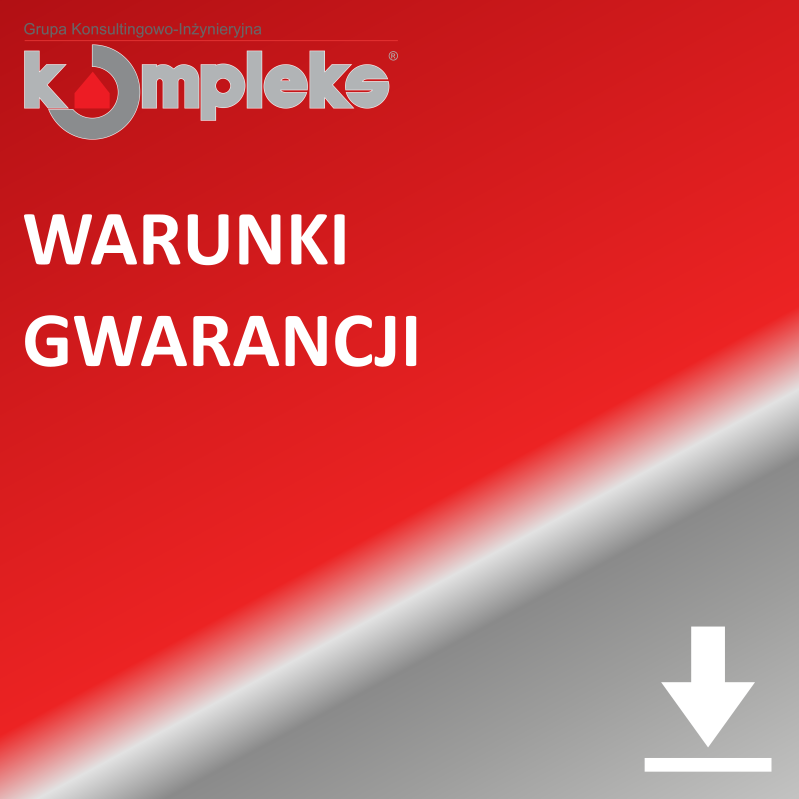 Warunki gwarancji GKI Kompleks S.A.